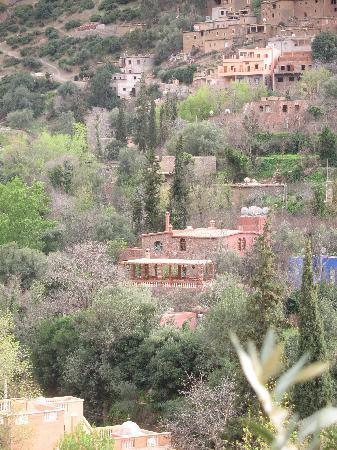 Ourika, Marruecos: Chez Larbi - vue du versant oppsé