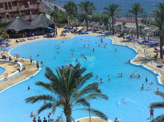 Holiday Village: Hotel pool-View from balcony