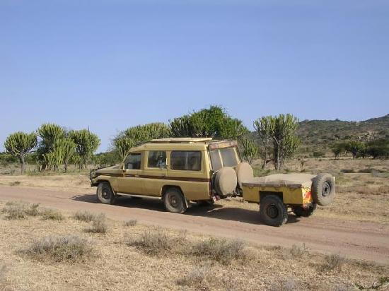Eyes on Africa Safaris: Our Rugged 4x4 expedition vehicle