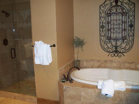 Highmark Steamboat Springs: the master bath - again... you have to see it in person