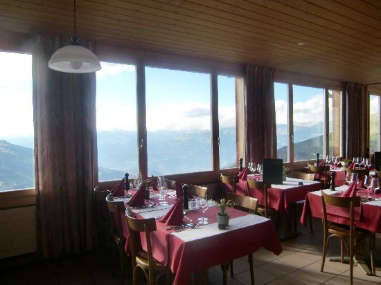 Hotel Weisshorn : comedor