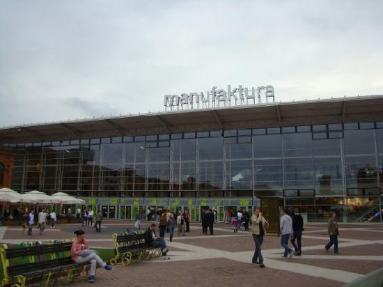 Lodz, Polen: Altstadt plus Einkaufszentrum