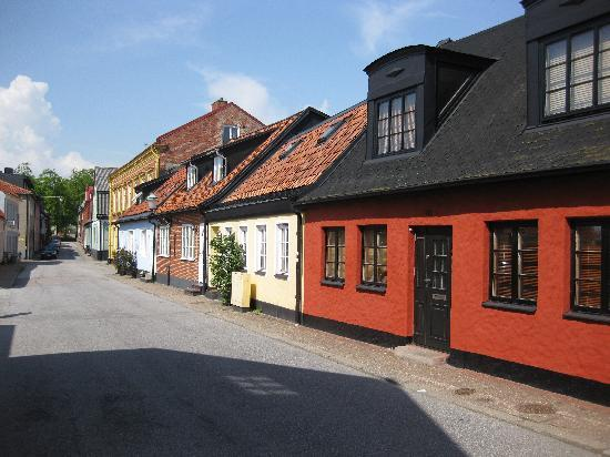 Ystad, السويد: Gasse in Ystad