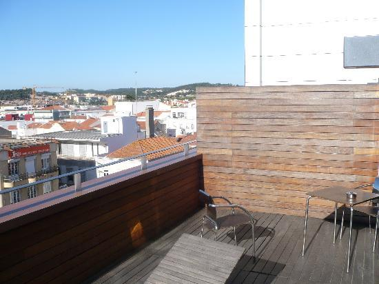Stay Hotel Torres Vedras Centro : Terrace 1