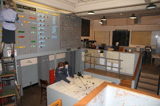 Scotland's Secret Bunker: R.O.C Room