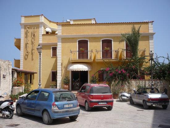 Hotel Sirio: Vista ingresso hotel
