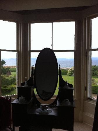 West Kilbride, UK: la vue d'une chambre