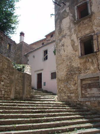 Labin, Croatie : Altstadt