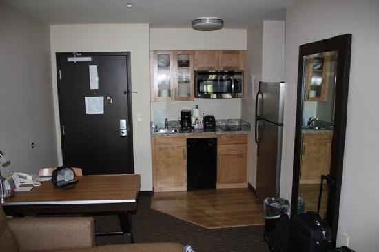 Fantastic Kitchen In Studio Suite Picture Of Hyatt House Seattle Beutiful Home Inspiration Aditmahrainfo