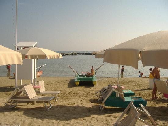 Viserbella, Italy: La spiaggia