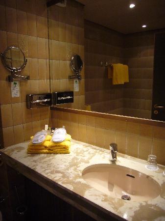 Lindenhof Landgasthof Hotel: La camera 101 - Il bagno