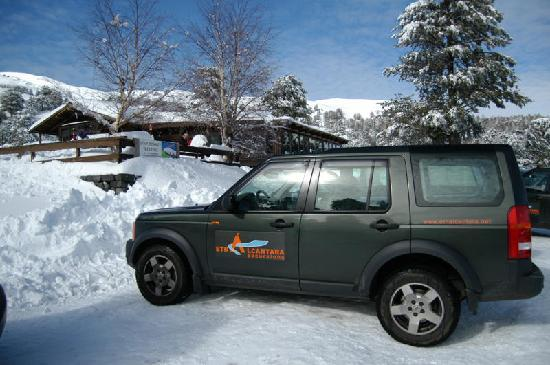 Etnalcantara: Etna Jeep Ride and Snow