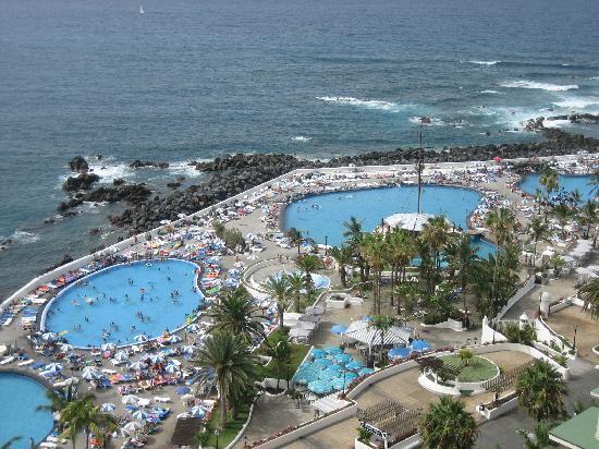 Vista desde la habitacion lagos martianez picture of catalonia las vegas puerto de la cruz - Hotel catalonia las vegas puerto de la cruz ...