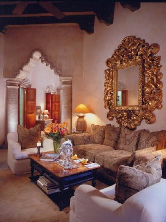 Hacienda De Los Santos: Presidential Suite Living Room