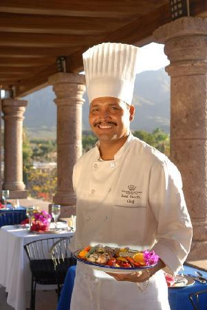 Hacienda De Los Santos: Hacienda Executive Chef Rene Duarte