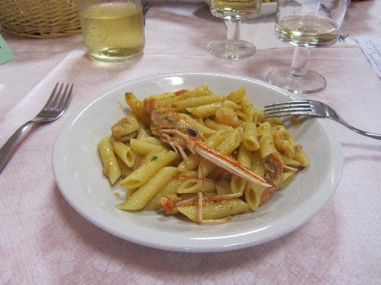 Santuario Nostra Signora di Soviore: Great food from cafeteria