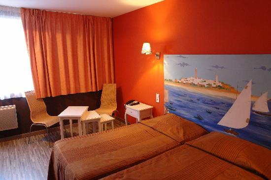Hotel des Dhuits: Notre chambre