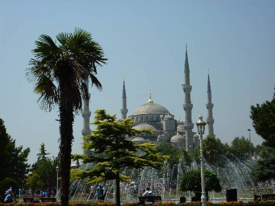 Şebnem Hotel: The Blue Mosque a very easy walk