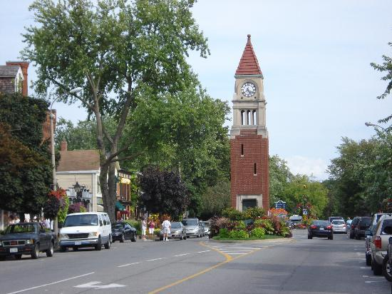 Niagara-on-the-Lake, Kanada: The center of town