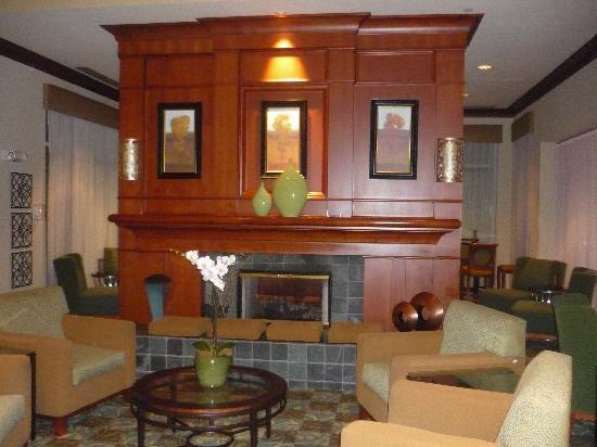 Hilton Garden Inn Oklahoma City Airport: Elegant lobby