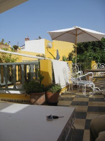 Dar Beldi : rooftop terrace