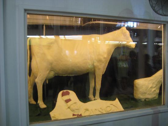 Des Moines, IA : Butter Cow