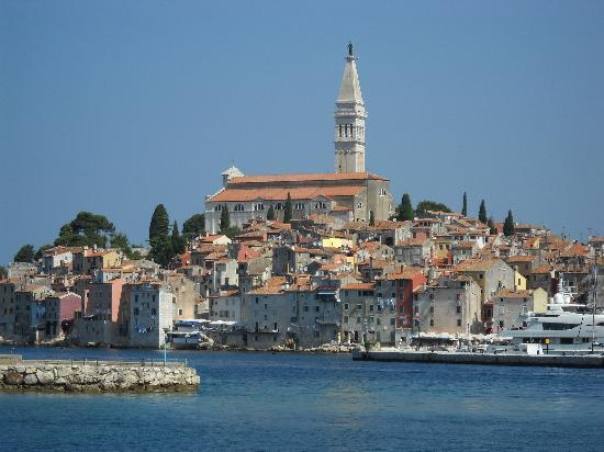 Island Hotel Istra: From the ferry into Rovinj