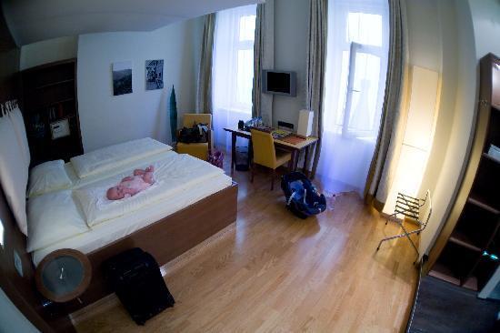 Hotel Rathaus Wein & Design: the room in Hotel Rathaus