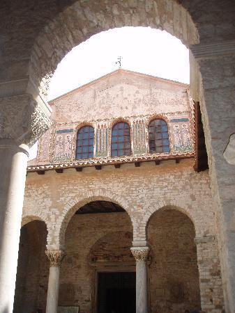Porec, Kroatien: Euphrasius-Basilika