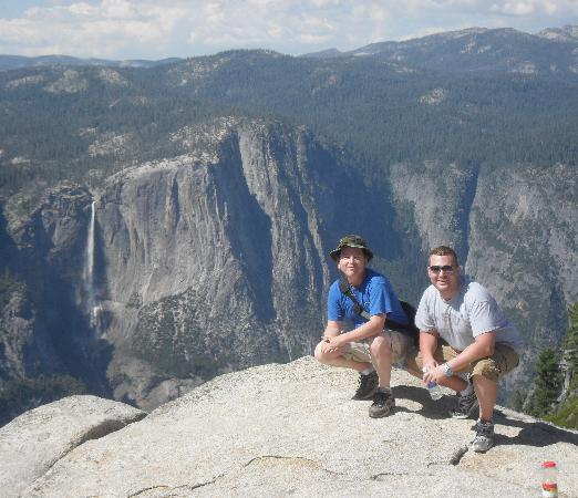 San Francisco, CA: Yosemite Falls from Taft Point