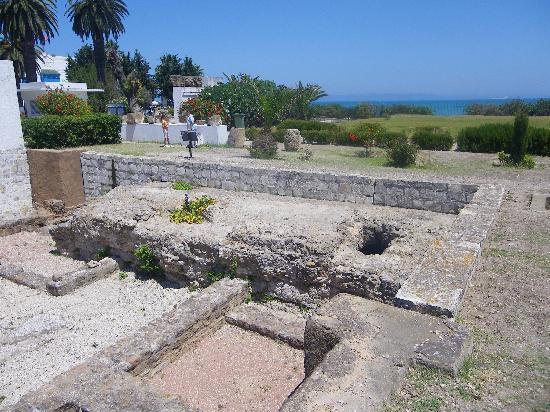 Hammamet, Tunus: cartago