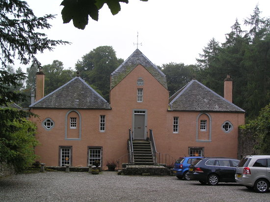 Dunblane, UK : Old Kippenross house