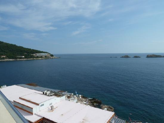 Importanne Resort Dubrovnik: view from balcony