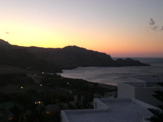 Hotel Damnoni Bay: Aussicht