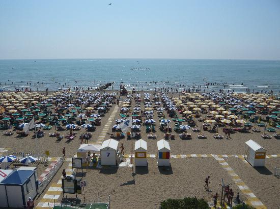 Hotel Tritone: Blick aufs Meer vom Balkon aus