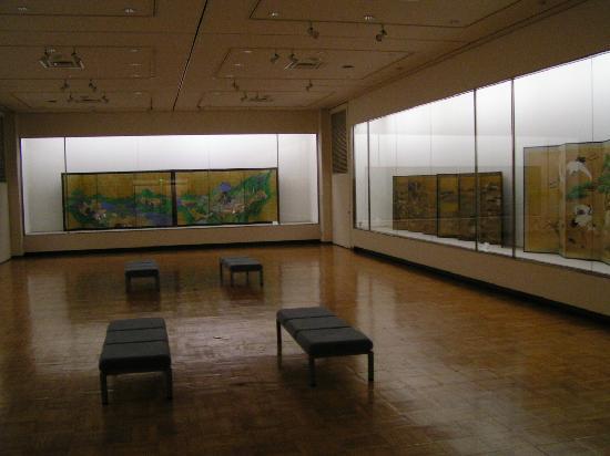 Hirafuku Memorial Art Museum: Ausstellungsraum