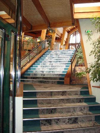 Hôtel-Résidence Les Vallées : escalier