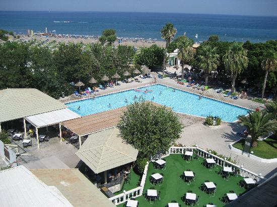 Mitsis Faliraki Beach Hotel: view from room