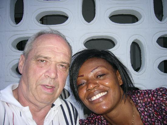 Abidjan, Ακτή Ελεφαντοστού: koumassi  avec mon epouse