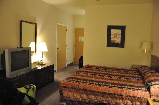 Motel 6 Richfield : lit entrée