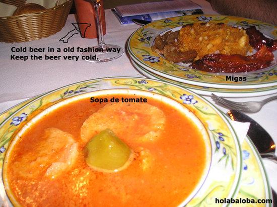 Restaurante Pillete: Entrante