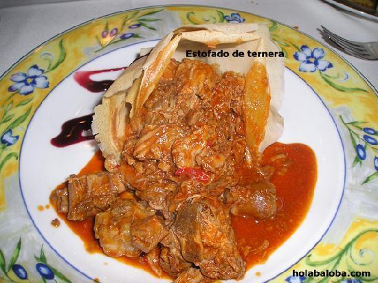Restaurante Pillete: Estafado