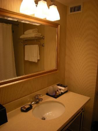Sheraton LaGuardia East Hotel: King Room Bath