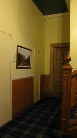 Rosehall Hotel: The washroom was just several steps away from my room, Room 4