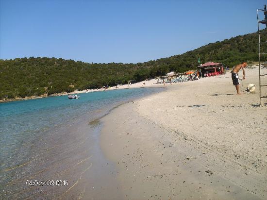 Teulada, İtalya: Spiaggia e mare di Tuerredda