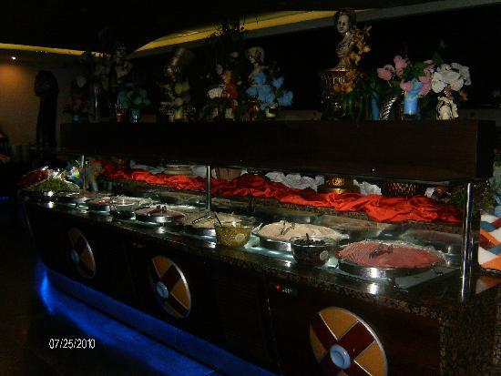 Orange County Resort Hotel Alanya: le restaurant self-service
