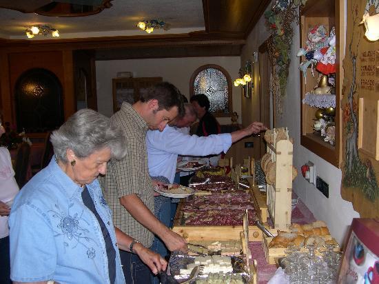 Hotel Chalet Alaska: antipasto tirolese