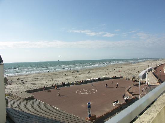 Hotel La Terrasse : belle vue sur la mer de notre balcon