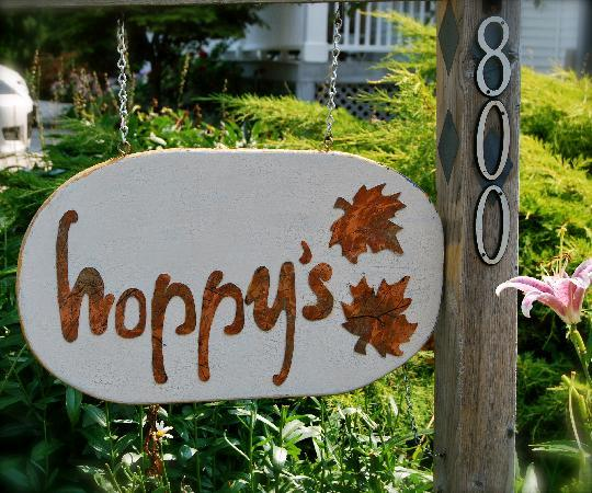 Hoppy's Bed & Breakfast: The Sign of a great stay and a promis of relaxation