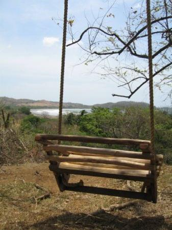 Playa Venao, Panamá: View from the camping area